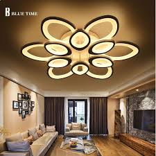 dimmable led ceiling lights top remote control living room bed room modern led ceiling lights