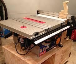 ryobi table saw blade size my bt3100 table saw upgrades by jd13 lumberjocks com