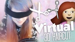 vengelfe gets a virtual 3d haircut youtube