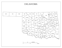 Usa Labeled Map by Oklahoma Labeled Map