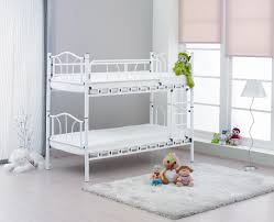 Large Shabby Chic Frame by Furniture Shabby Chic Wrought Iron Bed Frame With White Bedding
