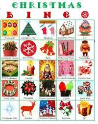 printable bingo cards for christmas holidays pinterest