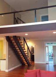 Contemporary Railings For Stairs by Stair Railing Ideas