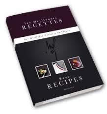 meilleur livre de cuisine le premier livre des mof