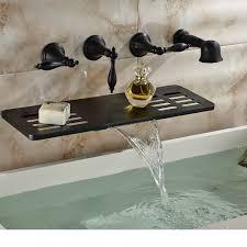 bathroom beautiful waterfall bathtub faucet photo tub in wall