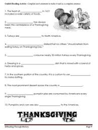 the history of thanksgiving 4th and 5th grade common tpt