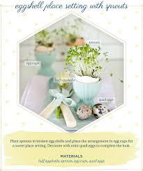 Easter Table Decor Diy Easter Table Decor Ideas From Ftd Sarah Halstead Blog