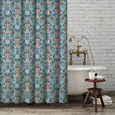 Paisley Shower Curtain Blue by Interview With Nikky Starrett Guest Expert For March In The
