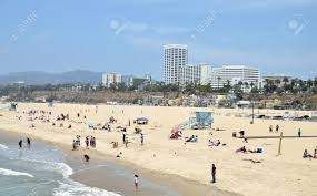 Image of Plage Santa Monica Californie