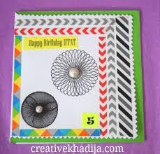 handmade glitter cards making ideas