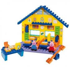 peppa pig playset building blocks jocando