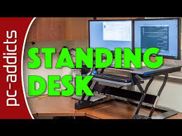 Standing Desk Ergotron Tabletop Standing Desk Ergotron Workfit T Youtube