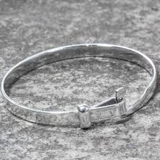 sterling bracelet clasp images Sterling silver loop clasp bangle by the jewellery boutique jpg