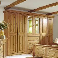 Schlafzimmer Naturholz Kleiderschrank Massivholz 6 Türig Kaufen Pharao24 De