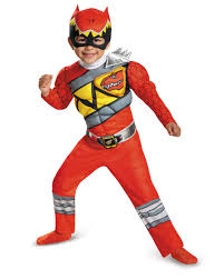 red power ranger dino charge toddler muscle dress up halloween