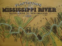 Map Of Mississippi River Map Of Mississippi Sugar Cane Slave Plantations Map Of Sug U2026 Flickr