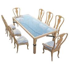 Queen Anne Dining Room Furniture by Phyllis Morris Queen Anne Dining Set Large Table And Eight Chairs