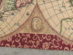 old world map tapestry as wall decor u2014 carpet decoration