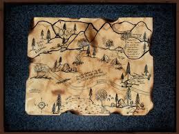 secret map treasure of the secret stones gypsygdesigns on artfire