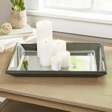 Decorative Trays For Coffee Table Birch Brilliance Decorative Tray Reviews Birch
