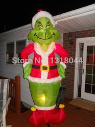 Grinch Christmas Decorations Sale Wonderful Decoration Grinch Inflatable Christmas Decorations