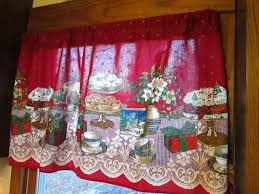 Cute Kitchen Window Curtains by Christmas Kitchen Window Curtains Caurora Com Just All About