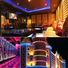 led outdoor strip lighting ledgle 16 4ft led light strip 300leds smd5050 led strip lighting