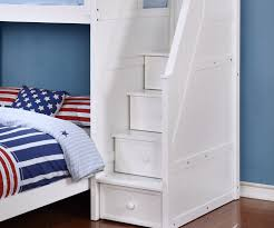 White Bedroom Chest Of Drawers By Loft Multifunction Loft Bed In White Allen House Kids Loft Beds And