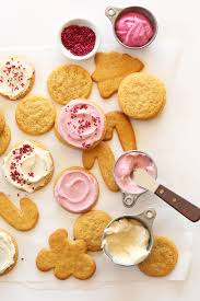christmas cookies sugar cookies christmas lights decoration