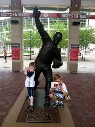Johnny Bench Fingers Reds Cook U0026 Sons U0027 Baseball Adventures