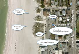 Clearwater Beach Florida Map by Clearwater Beach 1 Avalon St