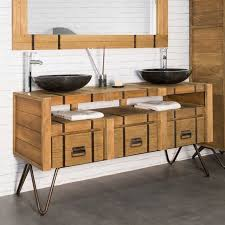 meuble de salle de bain original meuble de salle de bain bois accueil idée design et inspiration