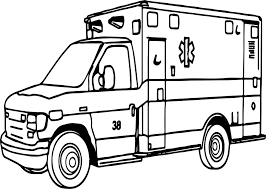 important ambulance coloring page wecoloringpage