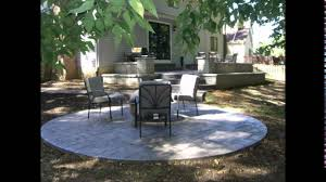 Patio Concrete Designs by Concrete Patio Designs Stamped Concrete Patio Designs Youtube