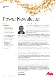 aon global power newsletter 2015 q4