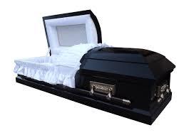black casket gloss black half opening casket compare the coffin uk