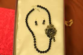 black beaded pendant necklace images Necklaces lucid memoirs jpg