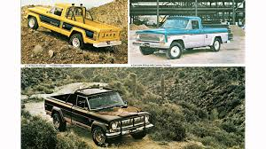 jeep gladiator 1971 9 jeep pickups from over the years jk forum