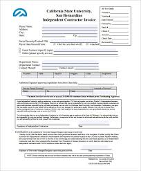 Sle Invoice For Independent Contractor by Independent Contractor Resume Nfgaccountability Com