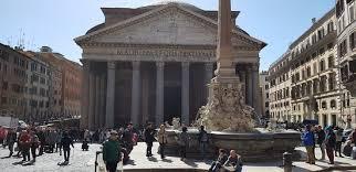 A Place Vue Vue Du Panthéon De La Place Picture Of Pantheon Rome Tripadvisor