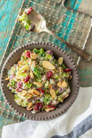 cranberry side dish thanksgiving cranberry almond charred broccoli salad the cookie rookie