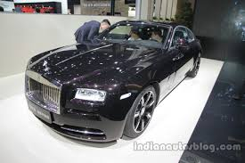 rolls royce wraith 2016 rolls royce wraith inspired by music auto china 2016