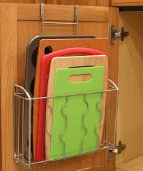 kitchen cabinet door organizers amazon com simplehouseware over the cabinet door organizer holder