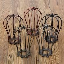 wire light bulb cage retro vintage industrial l covers pendant trouble light bulb