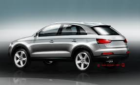 audi q3 dashboard 2012 audi q3 sketches released news car and driver