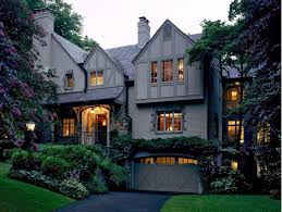 tudor style exterior lighting english tudor style exterior transitional with paved stone driveway