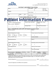 Fillable Fax Cover Sheet by Paying With Insurance Highland Orthopedic Supply Braces
