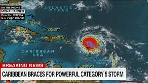Where Is Puerto Rico On A Map by Caribbean Islands Under Threat From Irma Cnn