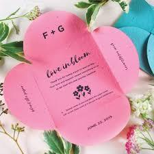 plantable wedding favors plantable seed wedding favors catalog botanical paperworks