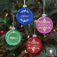 personalized birthstone ornaments personalized delicate christmas ornaments at personal creations